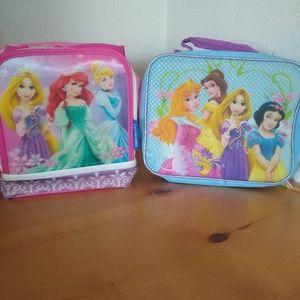 Girls Disney Princess lunch boxes